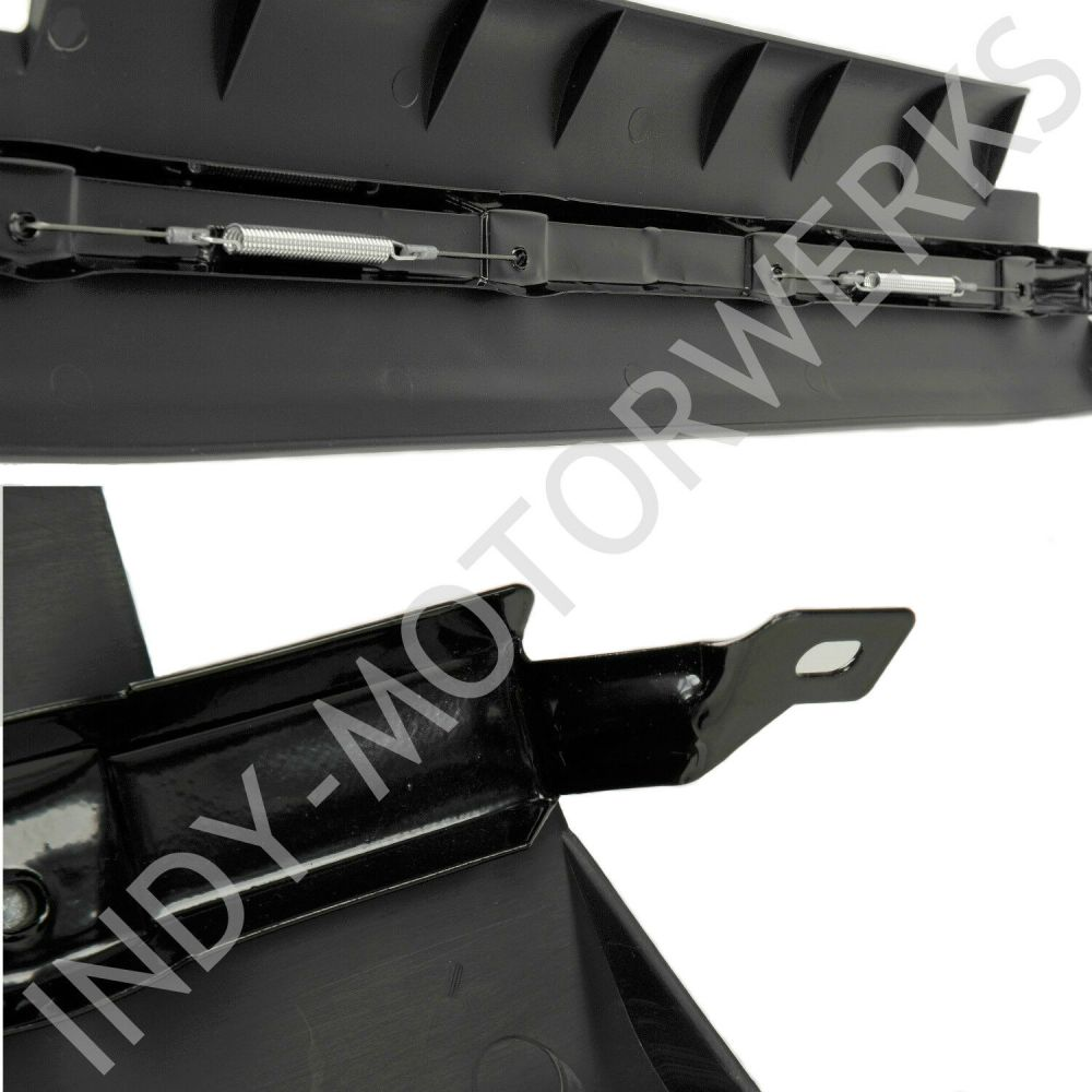 medium resolution of details about front center spoiler section corvette c5 lower air dam improve radiator cooling