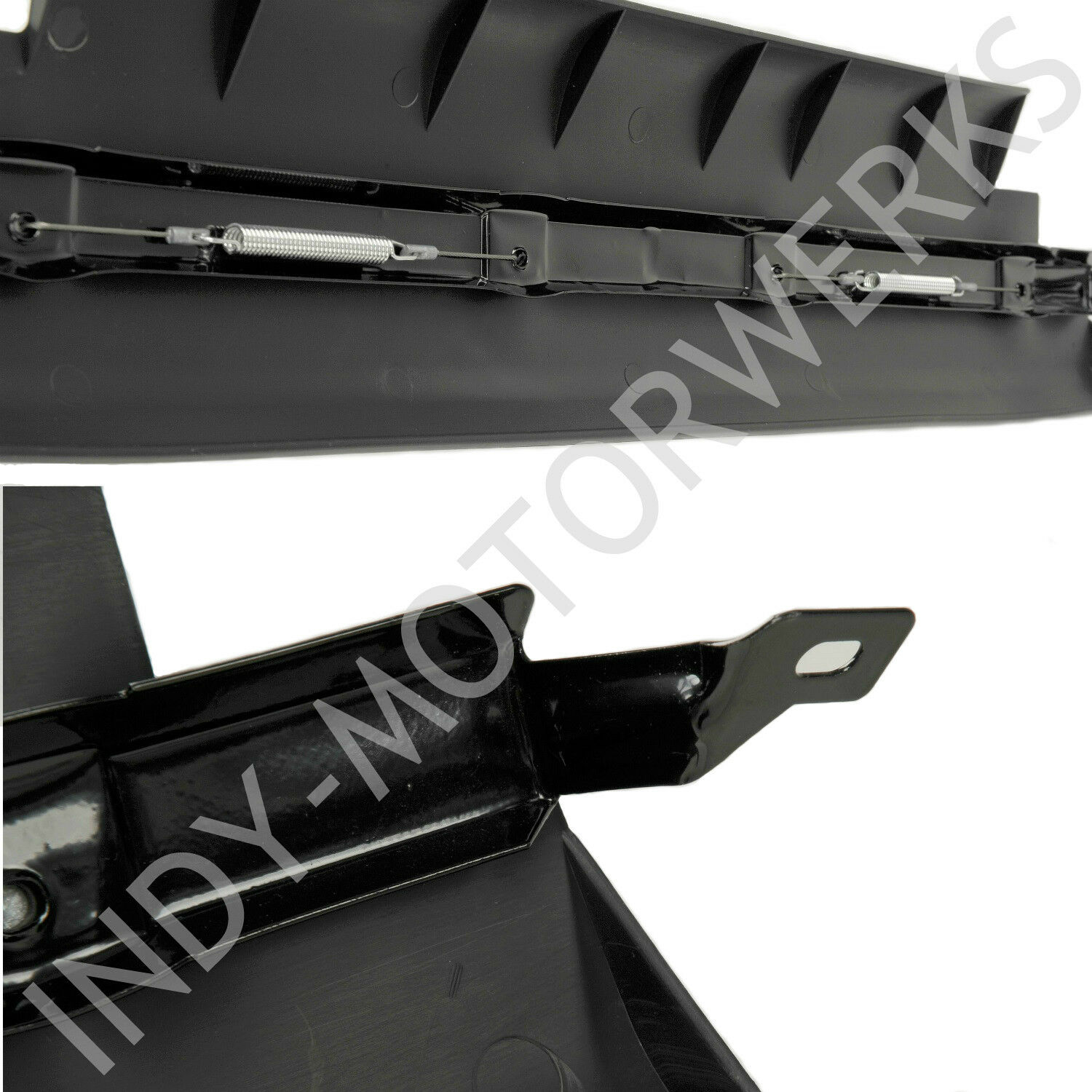 hight resolution of details about front center spoiler section corvette c5 lower air dam improve radiator cooling