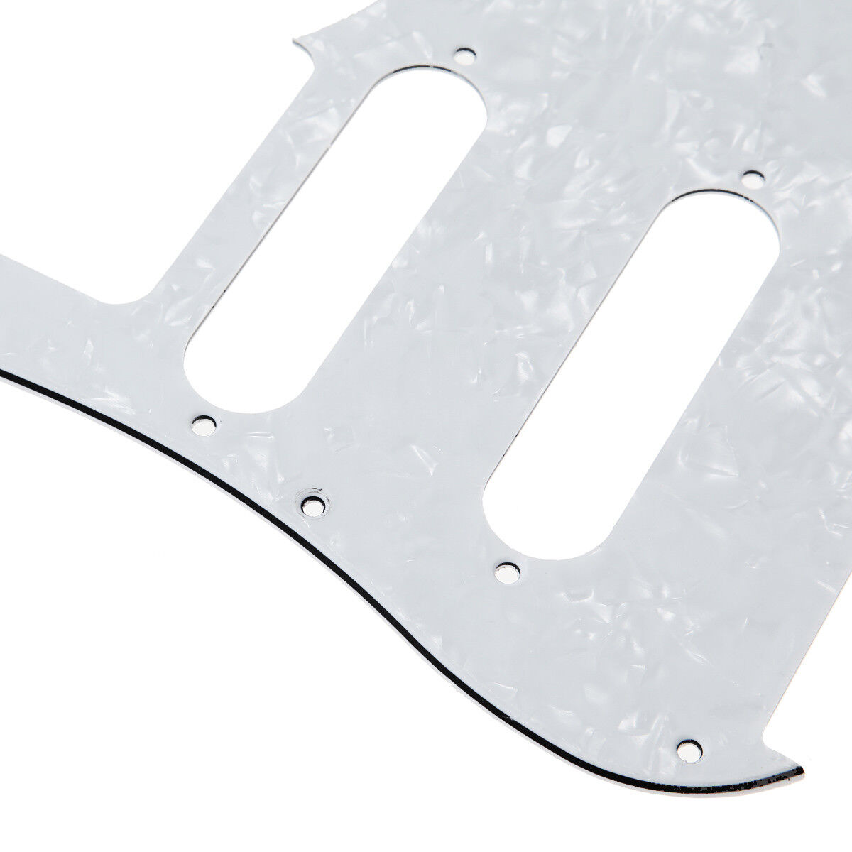 yamaha pacifica 112v wiring diagram of house white pearl guitar pickguard for
