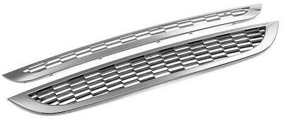 CADES Chrome Front Grille Kit 2 piece to fit Mini Cooper-S