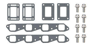 GLM 53782 Exhaust Manifold Gasket and Bolt Kit 454 502