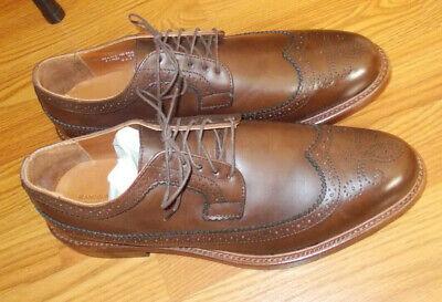 Rancourt 11.5D men's brown dress shoes long wings near mint Made in USA 11.5 | eBay