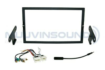 Radio Stereo Installation Dash Kit Combo 2DIN + AMP Wire