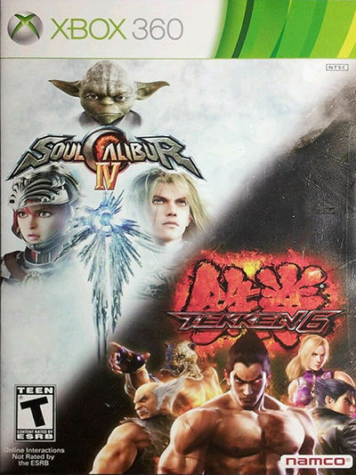 Soul Calibur IV/Tekken 6 (Microsoft Xbox 360. 2012) for sale online | eBay