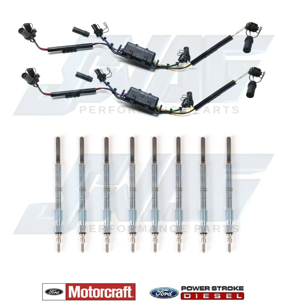 medium resolution of details about 99 03 ford 7 3l powerstroke diesel injector wire harness set with glow plugs