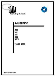 David BrownTMM 770 880 990 1200 3800 4600 Workshop Manual