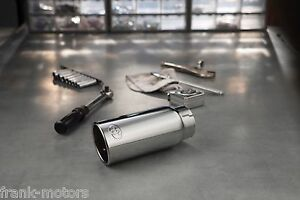 details about toyota tacoma 2016 2021 chrome exhaust tip oem new