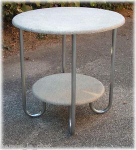 details sur table gueridon sur pieds haricots vintage an 50 s
