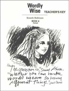 Wordly Wise : Book 6 (2004, Paperback, Teacher's Edition
