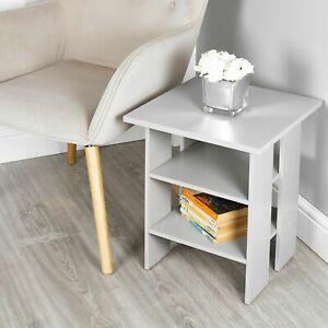 white small end table living room sofa