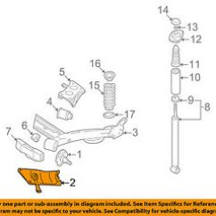 Vw Beetle Rear Suspension Diagram Hissing Cockroach Volkswagen Oem 98 10 Stone Guard Left Image Is Loading