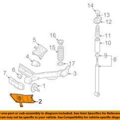 Vw Beetle Rear Suspension Diagram Yamaha G1 Solenoid Wiring Volkswagen Oem 98 10 Stone Guard Right 1j0511534b