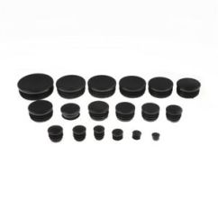 Chair Leg Glides Massage Pads 4x Round Plastic Glide Cap Plug Tubing Pipe Insert Floor Image Is Loading