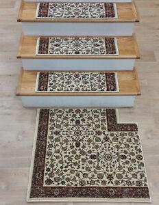 Rug Depot Carpet Stair Treads Matching Landing Hall Runners And | Oriental Carpet Stair Treads | Non Skid | Kings Court | Carpet Runners | Amazon | Stair Runner