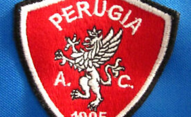 Ac Perugia Calcio Logo Longsleeves Soccer Jersey 1905