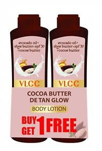 VLCC Cocoa Butter DE TAN Glow Body Lotion | BUY ONE GET ...