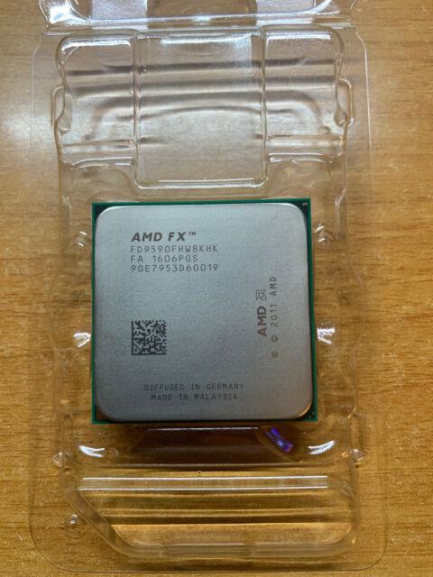 AMD FX-9590 Black Edition - 4.70 GHz 8 Core (FD9590FHHKBOF) Processor | eBay