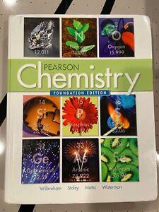 Pearson Chemistry Foundation HardcoverEdition by Wilbraham Staley Matta Waterman | eBay