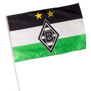 details zu vfl borussia monchengladbach fahne stockfahne logo 60 x 40 cm 16430