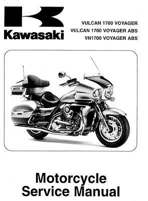 Kawasaki Vulcan 1700 Voyager VN1700 2009 2010 2011 2012