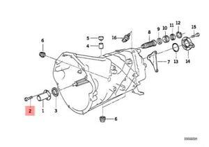 Genuine BMW 5 Pcs Fillister Head Screws Torx 6X16mm