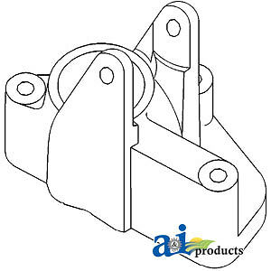 A-847705M2 Massey Ferguson Parts BRAKE HOUSING RH 20E, 20F