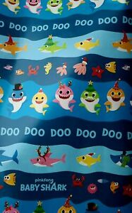 Baby Shark Christmas : shark, christmas, SHARK, WRAPPING, PAPER, CHRISTMAS, HOLIDAY, SQ.FEET, 805219343531