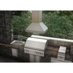 Outdoor Kitchen Hood Gel Mats For Zline 42 Island Range 304 Stainless Steel Led Image Is Loading 034