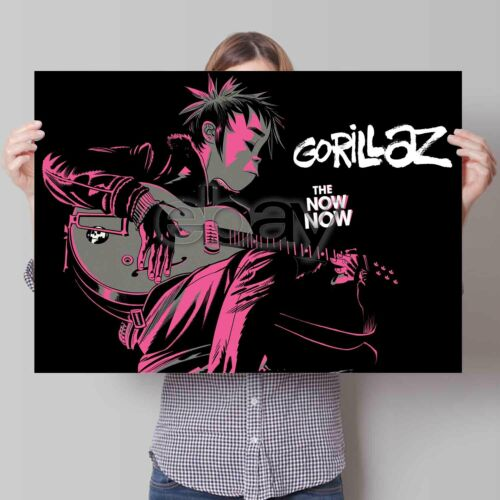 Our prints are all high quality professionally printed photographs on to premium quality 260gsm glossy. In Stadium Promotions Gorillaz The Now Now Tour Custom Poster Print Art Wall Decor Simple And Generous Design Pointer No
