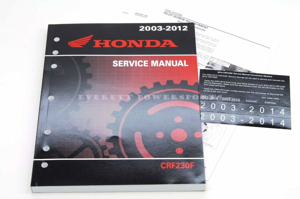 medium resolution of  service manua 2003 2014 crf 230 f oem honda shop repair maintenance on xr350r wiring diagram