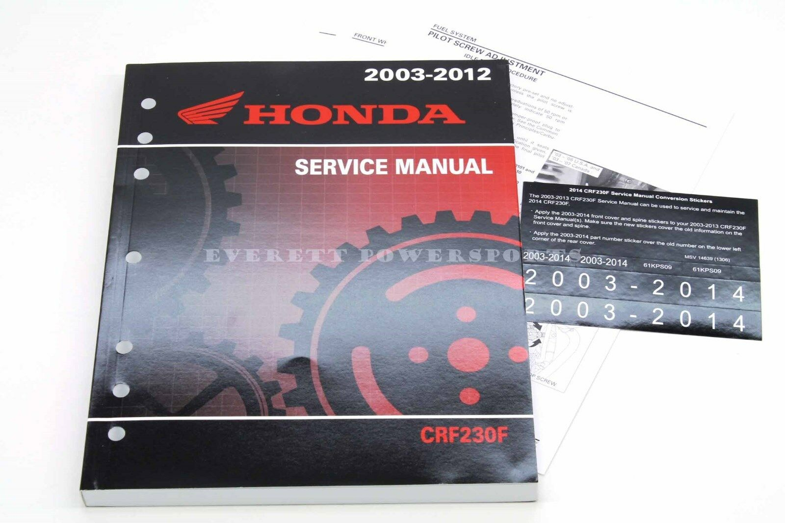 hight resolution of  service manua 2003 2014 crf 230 f oem honda shop repair maintenance on xr350r wiring diagram