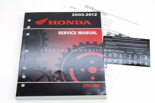 small resolution of  service manua 2003 2014 crf 230 f oem honda shop repair maintenance on xr350r wiring diagram