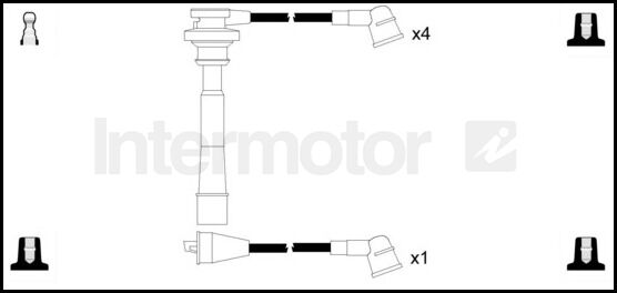 73739 ignition cable leads kit MITSUBISHI L200 L400 SPACE
