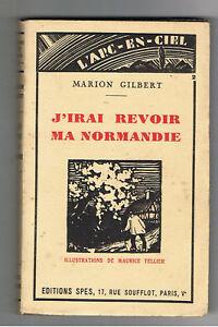 J Irai Revoir Ma Normandie : revoir, normandie, Normandy, Marion, Gilbert