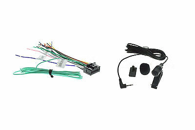 16PIN WIRE HARNESS EXTENDED & MICROPHONE FOR PIONEER AVH