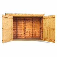 Wooden Bike Shed Storage Garden Bicycle Store Outdoor ...