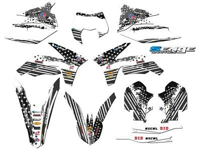2012 2013 FITS KTM EXC EXC-F EXCF 350 500 GRAPHICS KIT