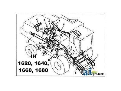 1541702C1 Belt, Separator Drive Fits Case IH Combine 1680