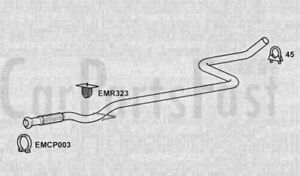 EXHAUST SILENCER CITROËN C3 Pluriel (HB_) 1.4 HDi Diesel