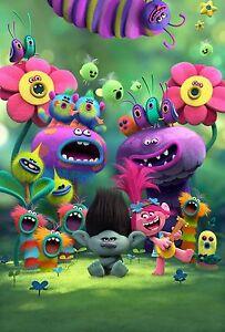 trolls movie cast poster