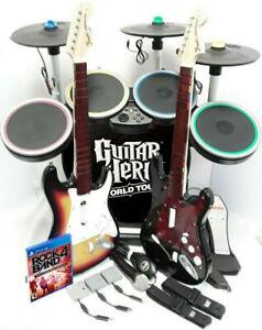 Rock Band Drum Set Ps4 : *Drums*3X, Pro-Cymbals*Sunburst, Guitars*Dongles*Game