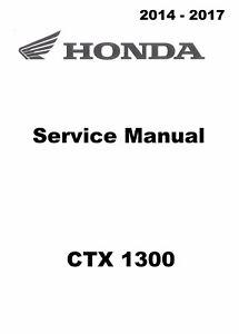 2014 2015 2016 2017 Honda CTX 1300 CTX1300 motorcycle