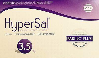 HyperSal 3.5% Hypertonic Saline Solution 60 Vials 4ML with ...