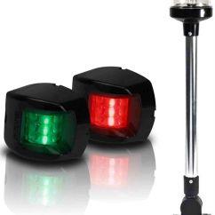 Boat Nav Lights Wiring Diagram 3 Circle Venn Solver Led Navigation Kit Light Package Port