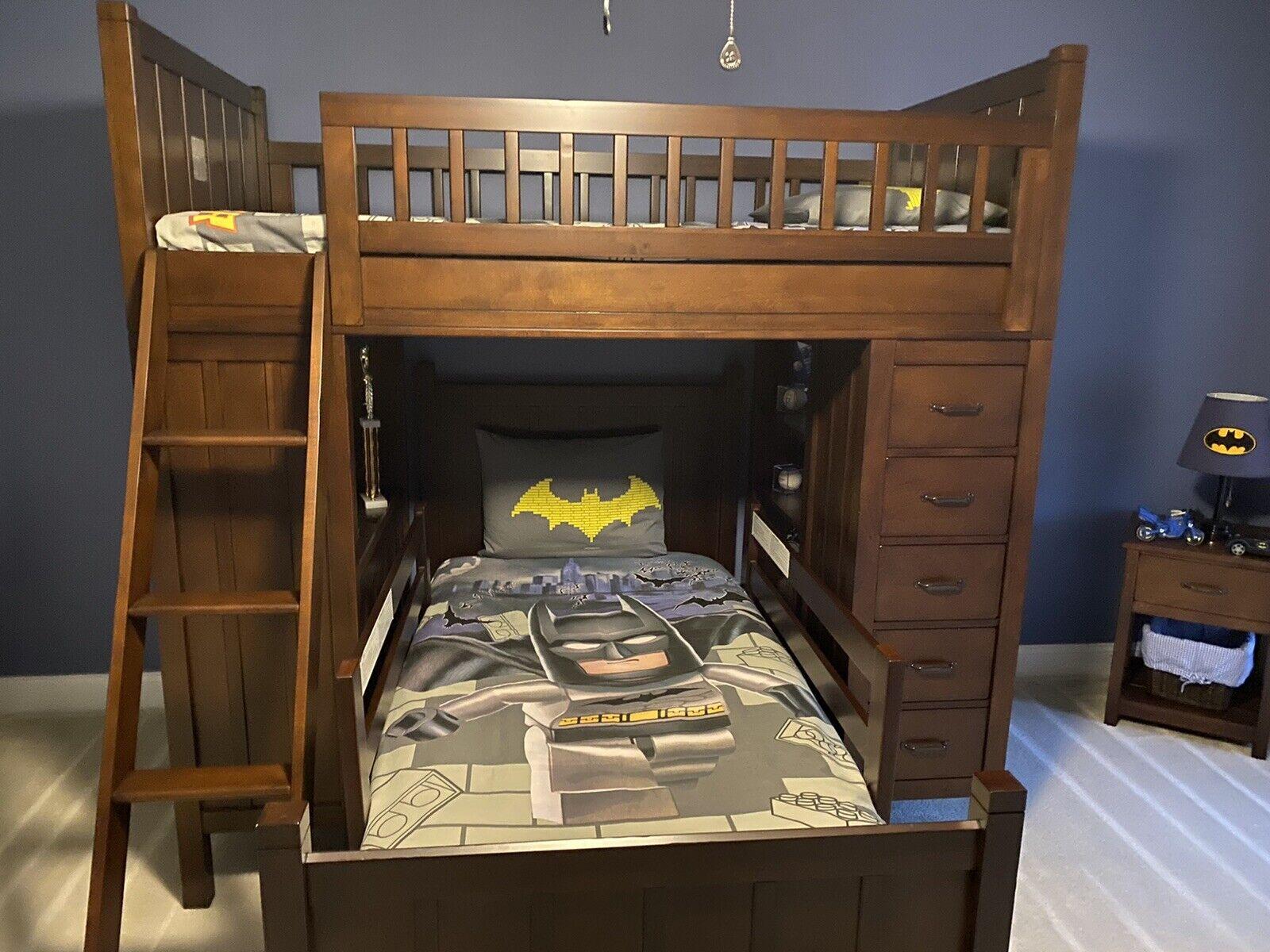 lego batman twin bed set comforter duvet cover and pillow case near mint