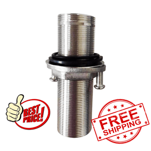 details about 4 inch extra length shank nuts faucet tap extension threaded pipe mounting 10cm