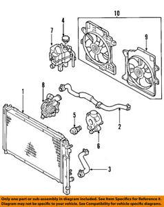 2001 Ford F150 Heater Hose Diagram : heater, diagram, Radiator, Coolant-Lower, 6L8Z8260B