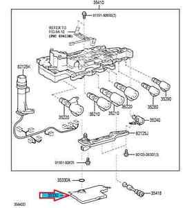 LEXUS ES350 / RX350 TRANSMISSION FILTER (STRAINER) 35330