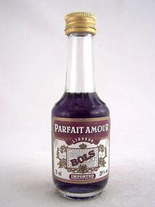 Miniature circa 1985 BOLS PARFAIT AMOUR LIQUEUR Isle of Wine | eBay