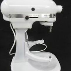 Kitchen Aid K5ss 6000 Hd Kitchenaid White Heavy Duty 5 Qt Stand Mixer Wh 325 Watts Works Awesome